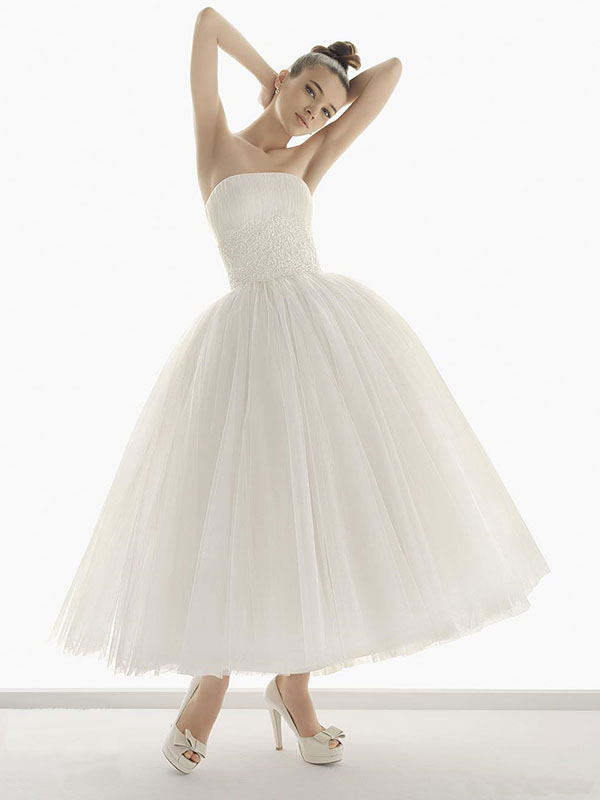 ballerina wedding dress